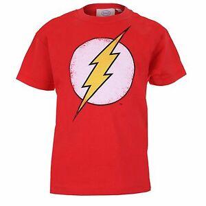 Boys-DC-Comics-Distressed-Flash-Logo-TShirt-3-12-YEARS