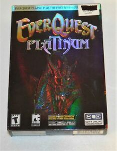Details about Everquest Platinum Deluxe PC CD-ROM Booklet Maps all included  Complete