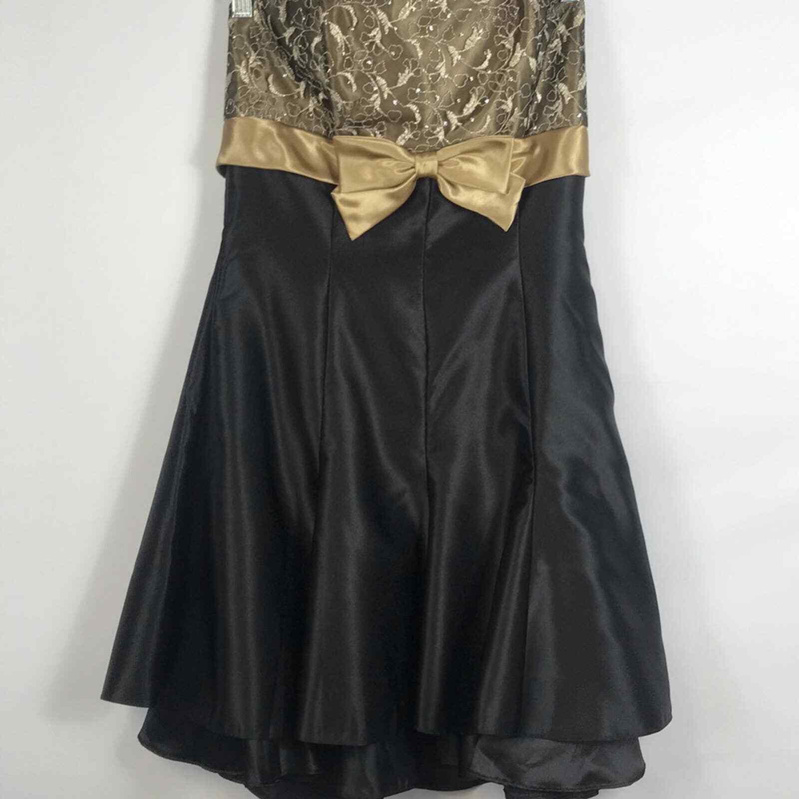 Jessica McClintock Gunne Sax Formal Prom Dress Si… - image 3