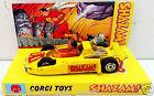 CORGI Juniors 1979 SHAZAM! #24 DC Comics Diecast Model Car & Custom Display [B]