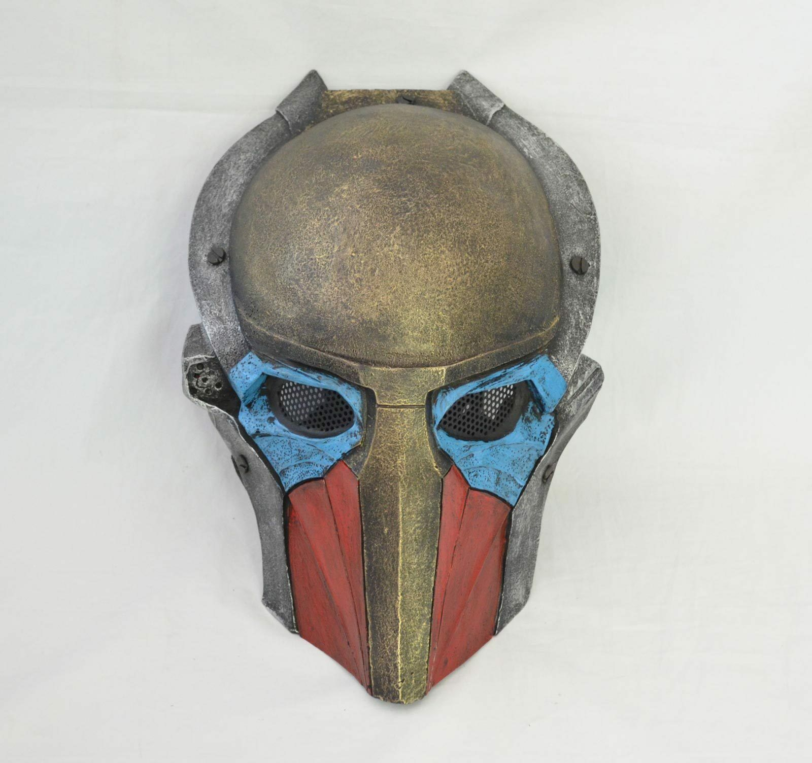 Paintball Airsoft Full Face Wire Mesh Eye Predection AVP Falconer Halloween Mask