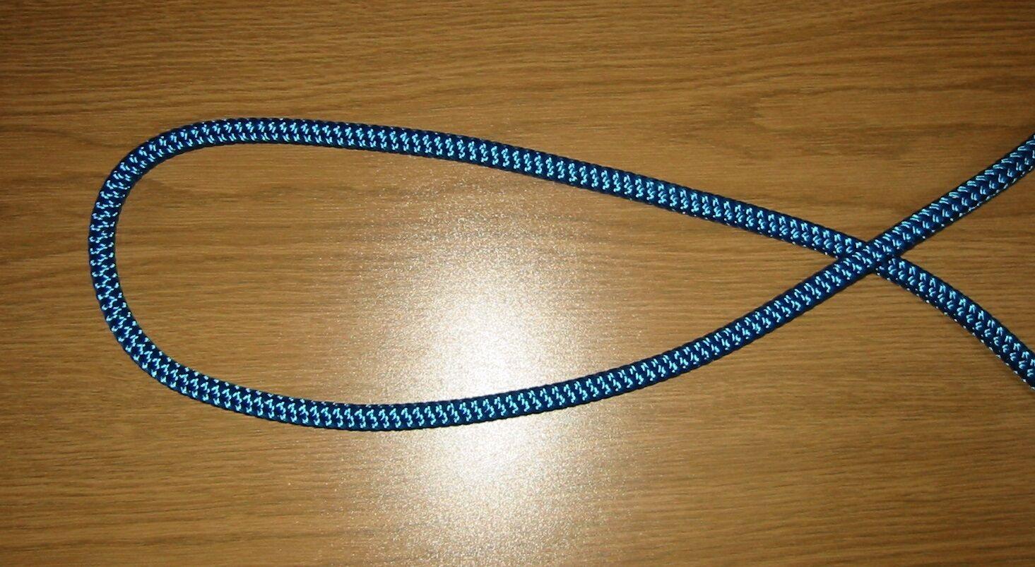 12 mm Festmacher dunkelblau 2.170 kg  1 Meter für EUR 1,15