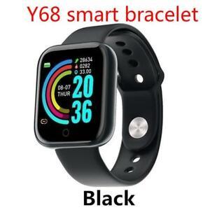 D20 Smart Watches Fitness Tracker Blood Pressure Y68 Waterproof Heart Rate Monit