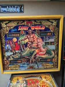 1978 Bally Lost World Four Player Pinball - it's more fun to compete!