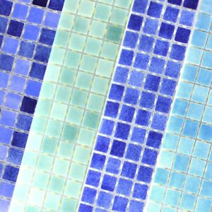 Details about Swimming Pool Glass Mosaic Tiles Ocean