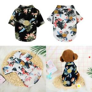 Pet-Puppy-Summer-Hawaiian-Style-Shirt-Dog-Cat-Pet-Kitten-Clothes-Vest-T-Shirt
