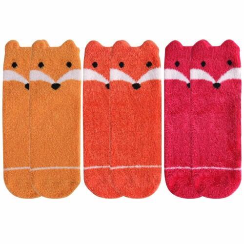 Womens Casual Socks,Vive Bears Soft Cartoon Animal Pattern Fashion Slipper Socks