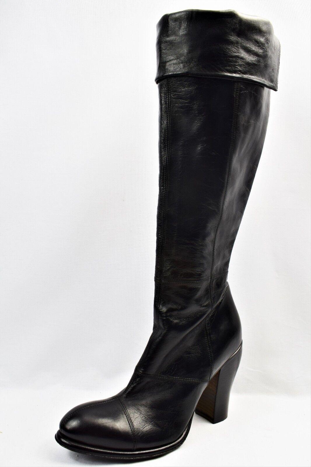 ROCCO P tutti Pelle con Tacco Stivali Taglia UK (AA7) Nuovo di Zecca 5.5 (AA7) UK 89fa39