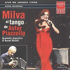 Milva & the Tango of Astor Piazzola by Astor Piazzolla (CD, Oct-1998, 2 Discs, Agora Musica)
