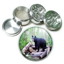 Black Bear Aluminum Grinder D4 63mm 4 Piece Forest, Nature, Grizzly