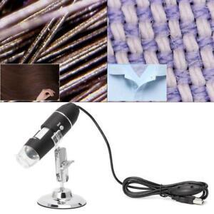 1600X USB цифровой микроскоп камеры эндоскоп 8LED лупа с металлической подставкой