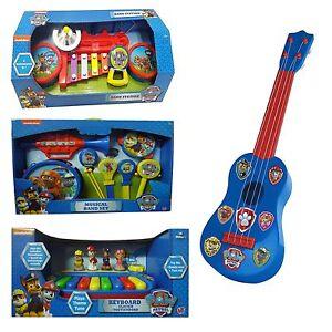 Paw-Patrol-Musical-Instruments-Band-Station-Band-Set-Guitar-Keyboard-Toy-NEW