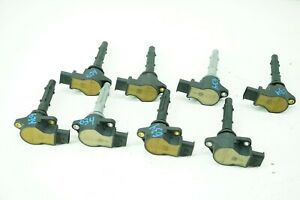 For Mercedes W216 W209 W219 W211 Set of 8 Ignition Coils w// 8 Spark Plugs OEM