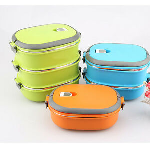 Stainless Steel Food Bento Storage Container Insulated Thermal Lunch