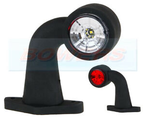 LED-RED-WHITE-SIDE-END-MARKER-LIGHT-LAMP-IFOR-WILLIAMS-INDESPENSION-TRAILERS