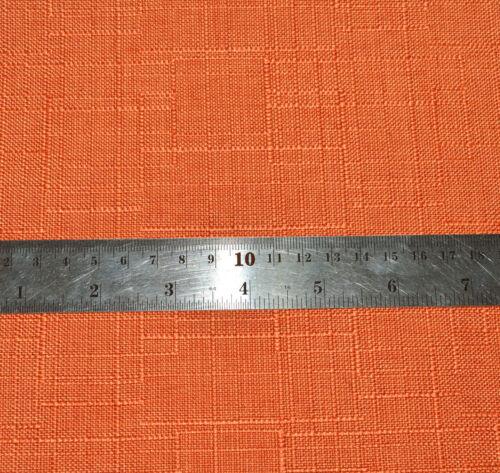 Qh06a Mandarin Orange Thick Cotton Blend Cushion Cover//Pillow Case Custom Size