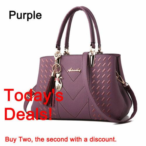 Ladies Handbag Work Bag PU Leather Medium Shoulder Tote Bag Women Designer Bag