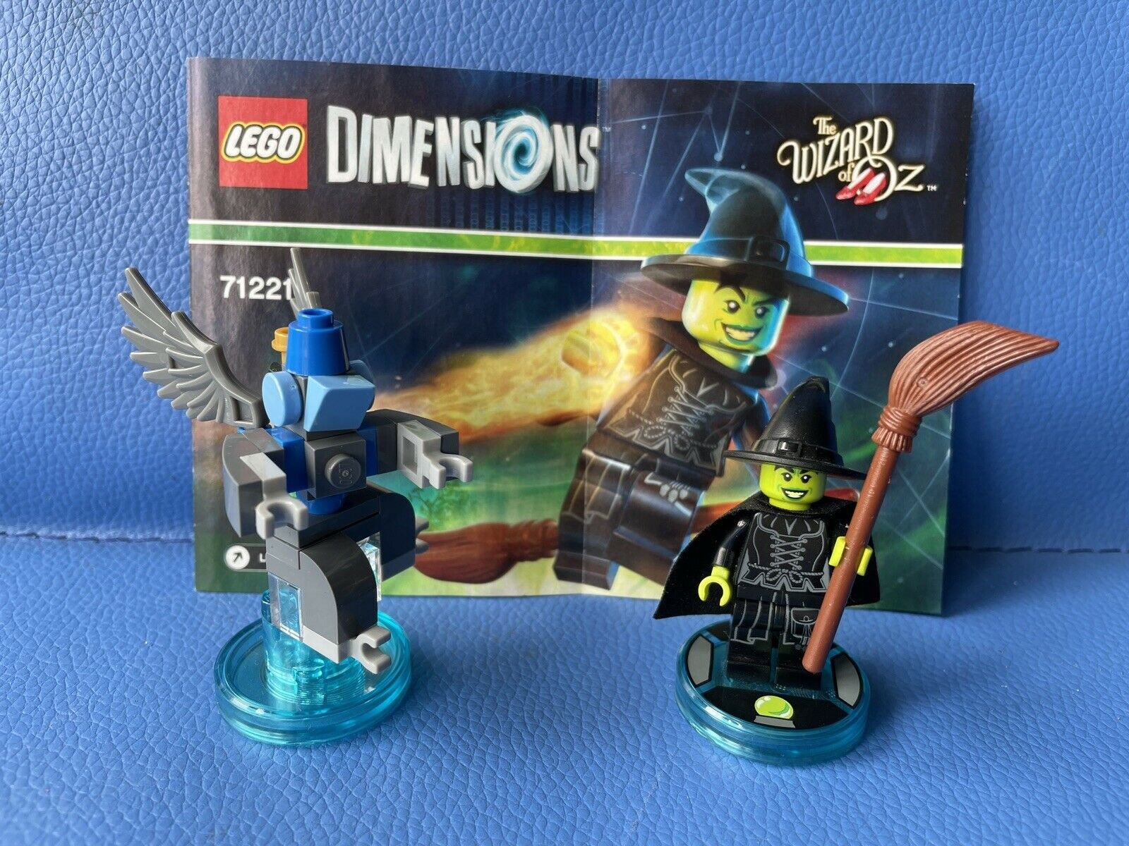 LEGO Dimensions 71221 Wizard Of Oz Wicked Witch Fun Pack. Complete Tested Manual