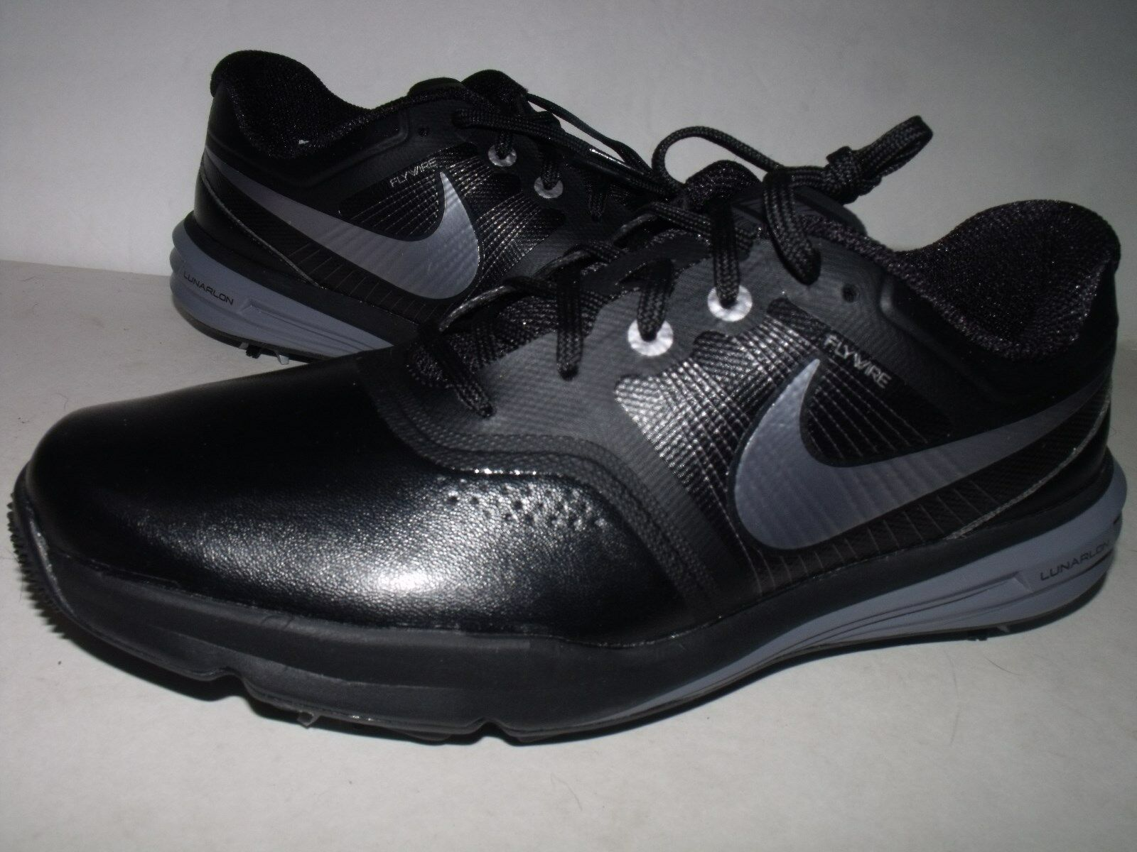 Nike Lunar Command Command Command Mens Water Resistant Spiked GOLF Shoe (Black) NEW Men Sz 7.5 b17b48