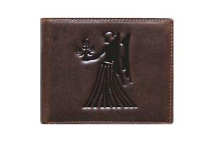 Unique-bi-fold-genuine-leather-wallet-Zodiac-Virgo