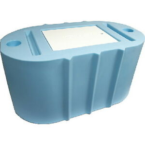 Light blue 40 gallon oval livewell or bait tank for boats for Fish livewell for boat