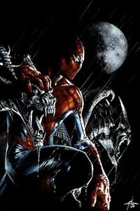 AMAZING-SPIDER-MAN-47-GABRIELE-DELL-OTTO-Exclusive-Virgin-Variant-NM