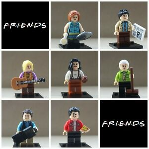 Friends Lego MinifiguresSet Of 7RachelJoey