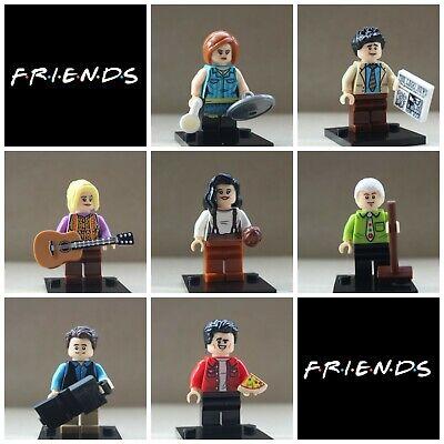 F.r.i.e.n.d.s Custom Mini figs x7 Friends Rachel,Monica,Phoebe,Chandler,JoeyRoss