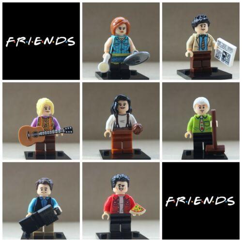 Friends Models Gifts Toys 7 X Mini Figures Rachel Ross Joey Chandler Monica