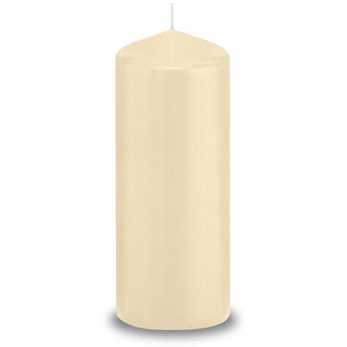 Wiedemann Kerzen aus Deutschland 16 x Stumpenkerzen 185//60 mm RAL Qualität