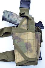 Tactical Leg Thigh Gun Pistol Holster or Open Carry Belt Holster ATACS FG Camo
