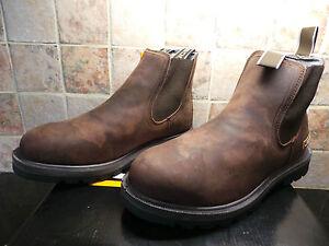 JCB Agmaster Brown Dealer Work Boots UK