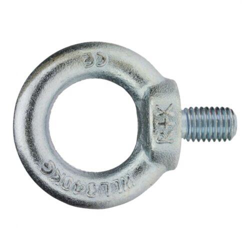 Stahl C15//C15E galv DIN 580 Ringschraube M 56 verzinkt farblos