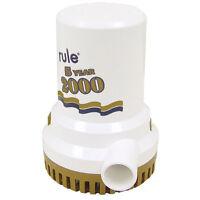 Rule 2000 G.p.h. gold Series Bilge Pump