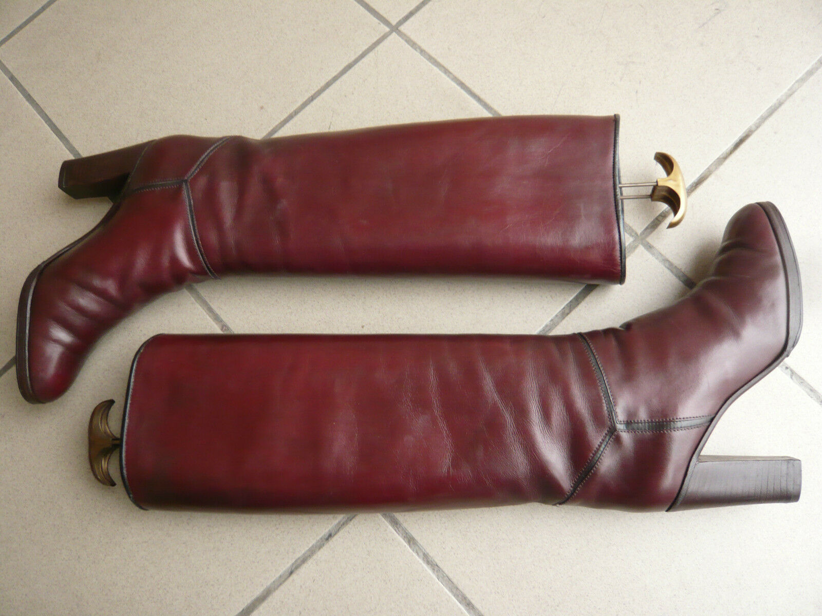 Bottes    vintage   1982  -    MANFIELD  par  KELIAN     -   (Bordeaux)    -  39,5 596293