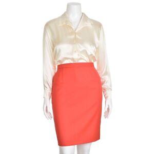 Escada-Margaretha-Ley-650-Cream-Off-White-100-Silk-Blouse-Shirt-Top-size-38-8