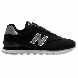 New Balance 574 Classic Traditionnels Black Men's Low Top Baskets-afficher Le Titre D'origine