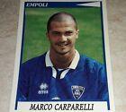 FIGURINA CALCIATORI PANINI 1998/99 EMPOLI CARPARELLI ALBUM 1999