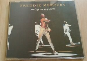 Freddie-Mercury-Maxi-CD-Living-on-my-own-Queen