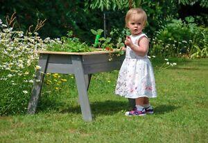 Hochbeet Für Kinder Ablagefläche Kräuterbeet Pflanzbeet Klein