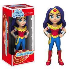 DC Super Eroe ragazze Wonder Woman Rock Candy Figura in vinile-NUOVO in Magazzino