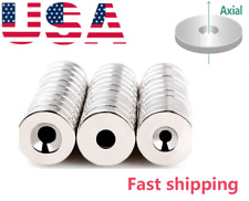 Disc15mm Countersunk Disc Round Magnets For Refrigerator Science Craft Project