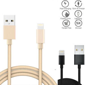 1M-2M-3M-Braided-Lightning-USB-Data-amp-Charger-Cable-for-iphone-5S-7-6-Plus-CHR-LOT
