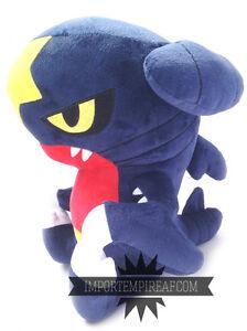 image is loading pokemon pokemon plush 30 cm doll carchacrok knakrack - Pokemon Carchacrok