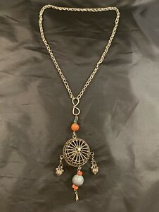 Chinese-Antique-Silver-Necklace