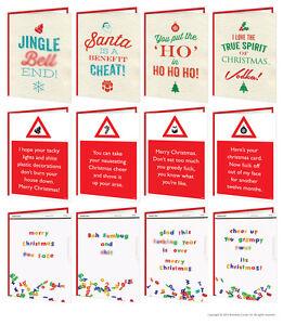 Brainbox-bonbon-Noel-Cartes-voeux-grossier-coquin-humour-blague-adulte