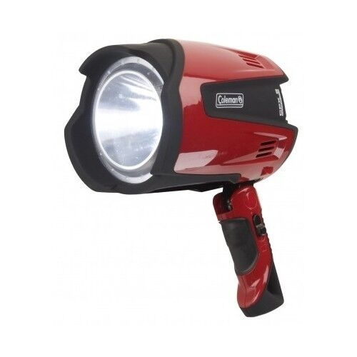 LED Coleman Rechargeable Spotlight Flashlight Bright Light Camping Hunt Fish Pro