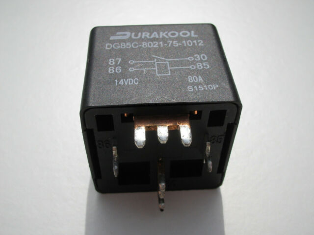 Automotive 80a 12vdc Durakool dg85c-8021-75-1012 Relè SPST-NO