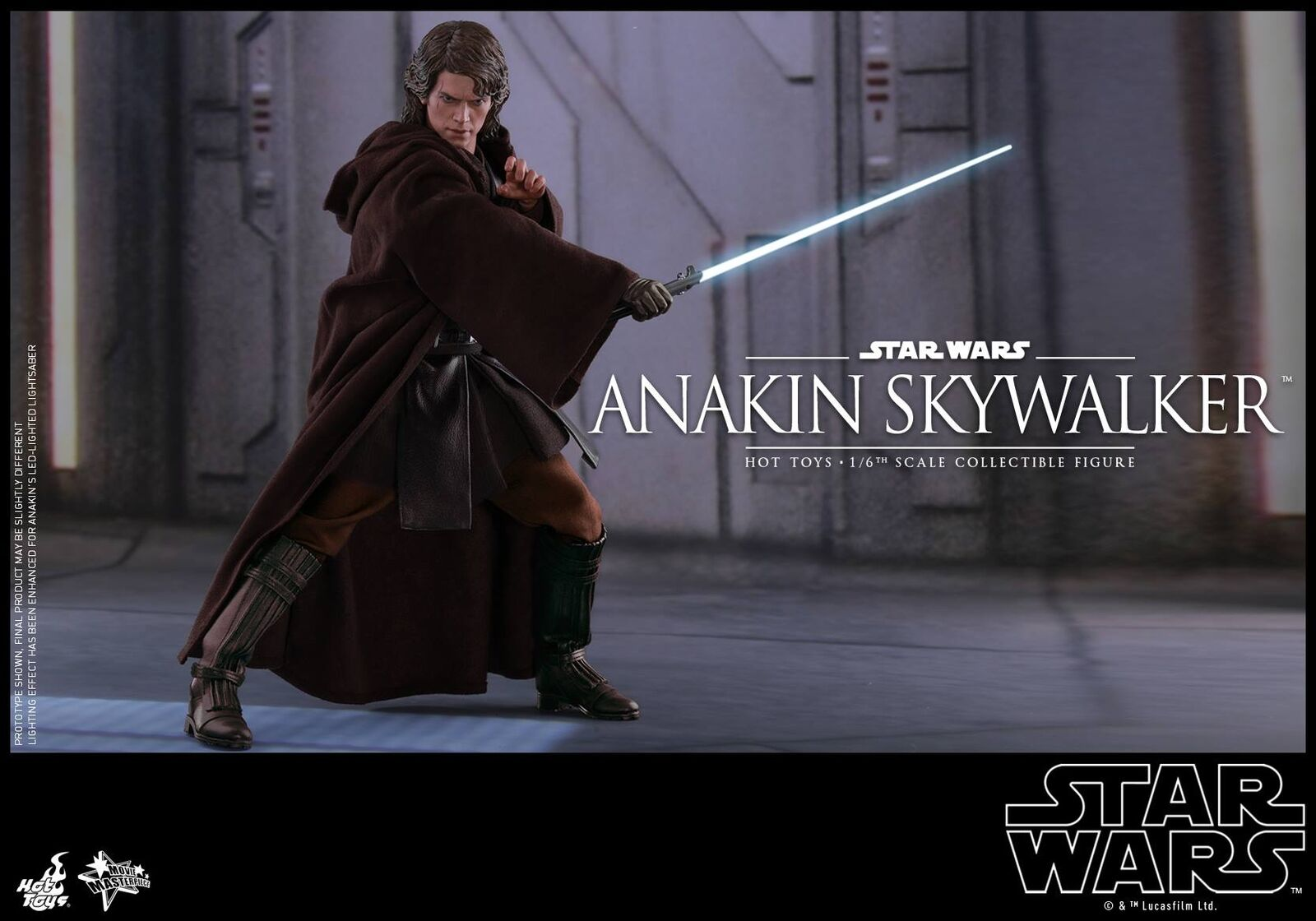 Hot Toys 1/6 Star Wars Episode III: Revenge Of The Sith MMS437 ANAKIN SKYWALKER