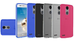 Details about Tempered Glass + TPU Flexible Phone Cover Case For LG Rebel 4  L212VL LML211BL